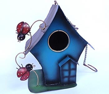 Bali Wholesale Metal Handicrafts Bird House