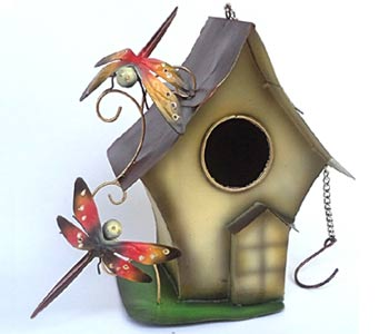 Bird House - Bali Wholesale Handmade Garden Ornaments